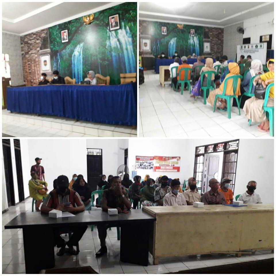 Rapat Penetapan Calon Penerima Manfaat (CPM) Program Rutilahu Desa Ciwangi